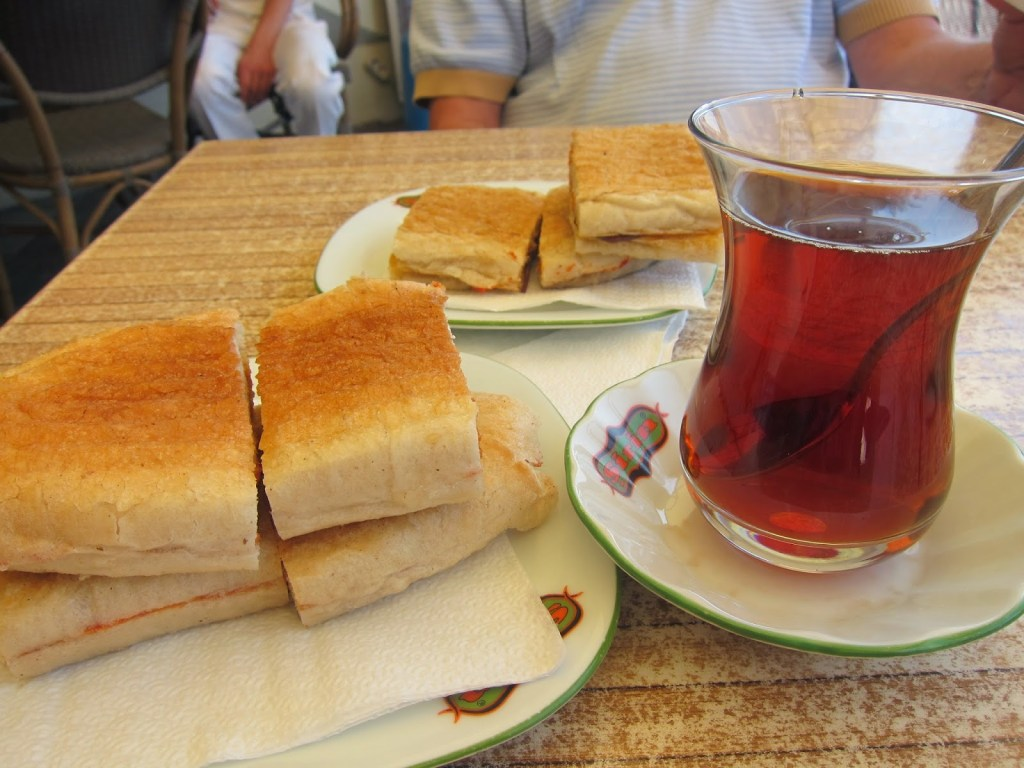 Toast and çay