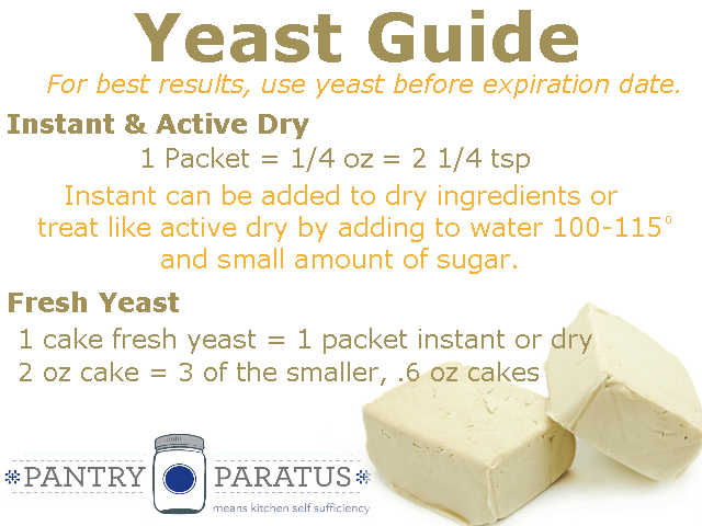 instant yeast vs active dry yeast