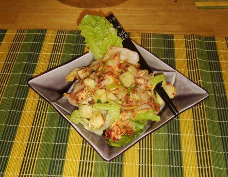 Cucumber Kimchi Salad