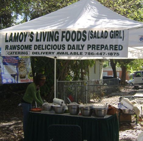 Lamoy's Living Foods in Glaser Market