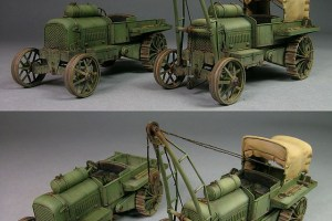 Pavessi-Tolotti Type B Tractors, Scracht 1/72; by Pedro Andrada.