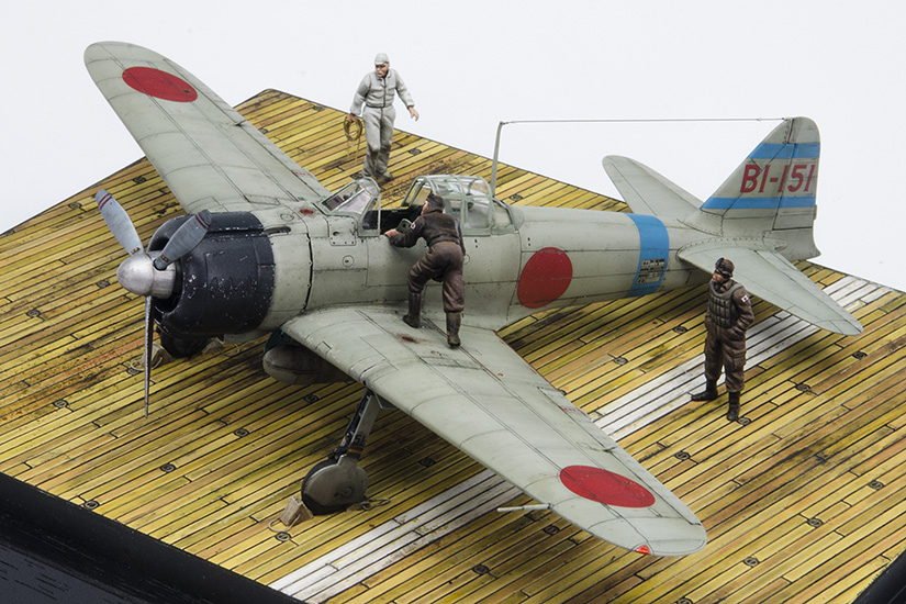 """Off to Pearl Harbor"" Mitsubishi A6M2b Zero"