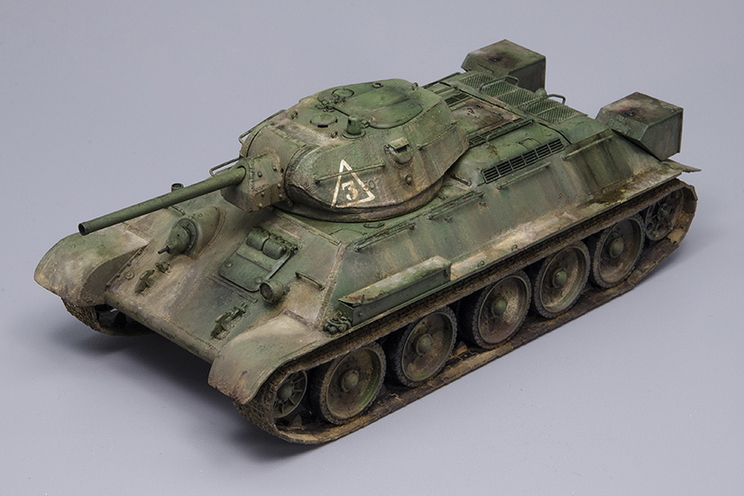 T-34/76 Factory Nº112, 1942 Model, Tamiya 1/48, Finished!