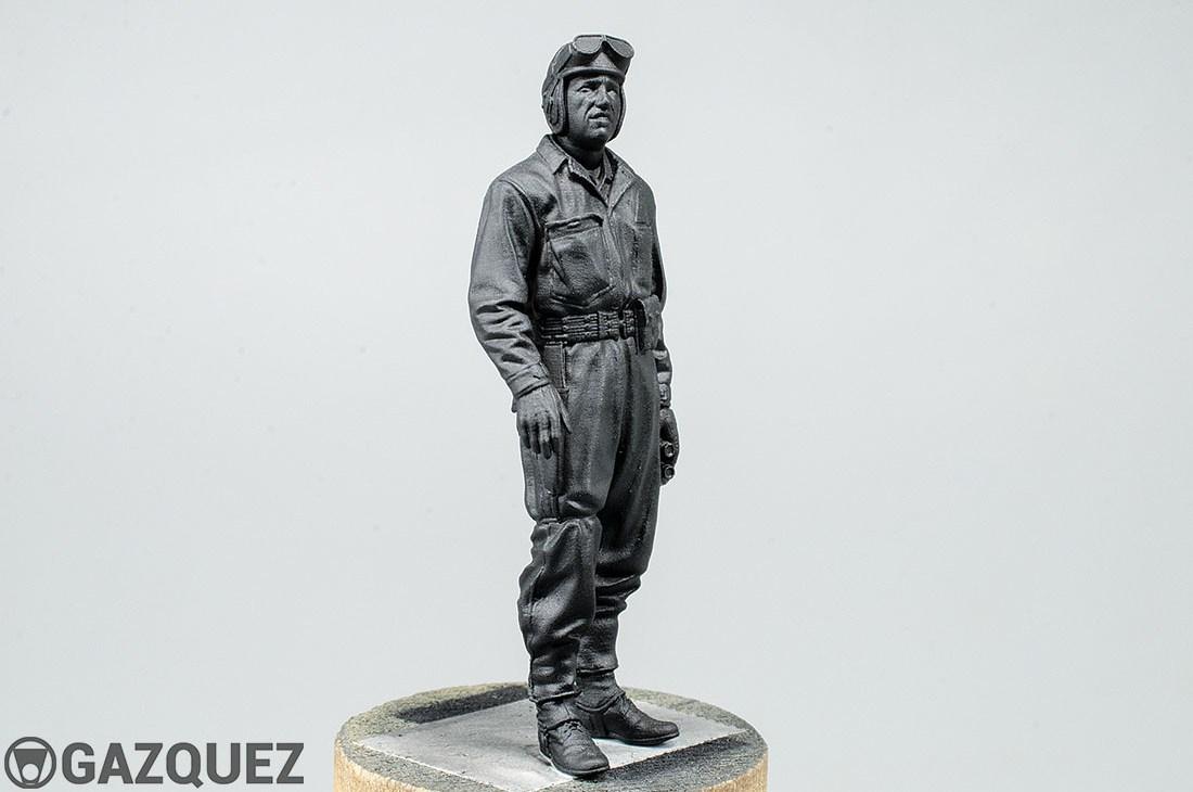 US Tank Crew, Tunisia 1943