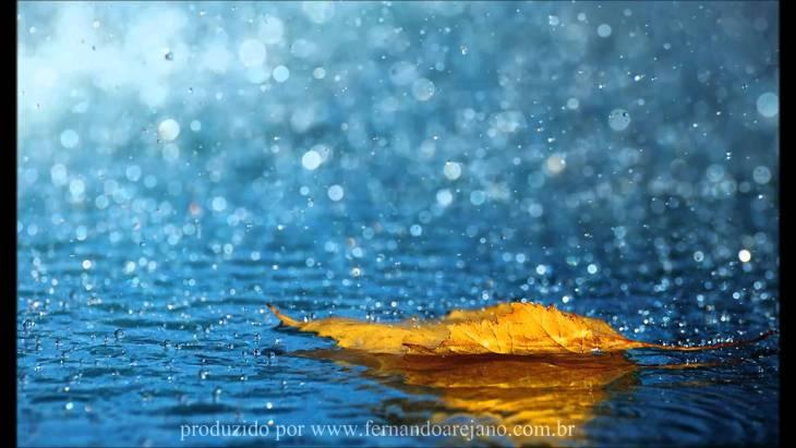 música e chuva