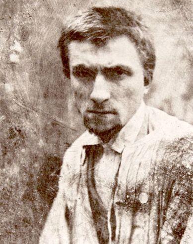 Fotografia di Auguste Rodin a 22 anni