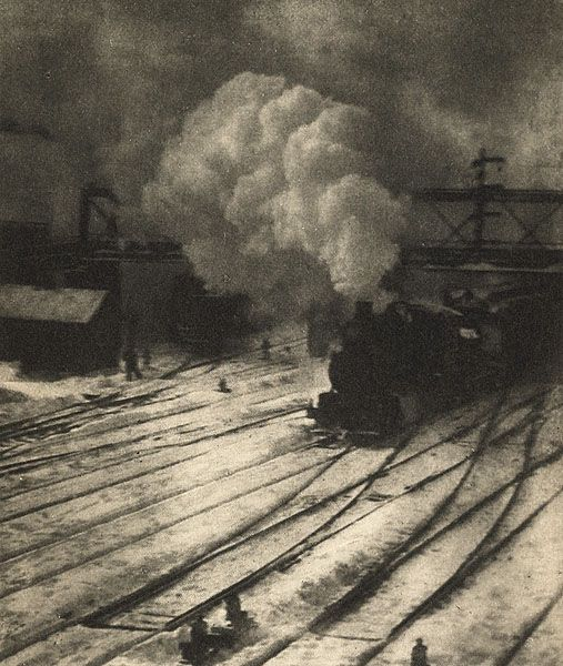 alfred stieglitz nei central yards di new york