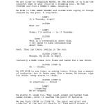 sceneggiatura pre produzione