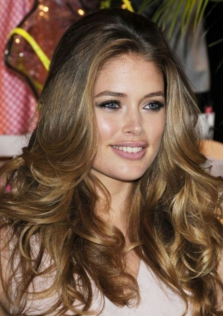 Light Highlights Hair Honey Blonde Brown