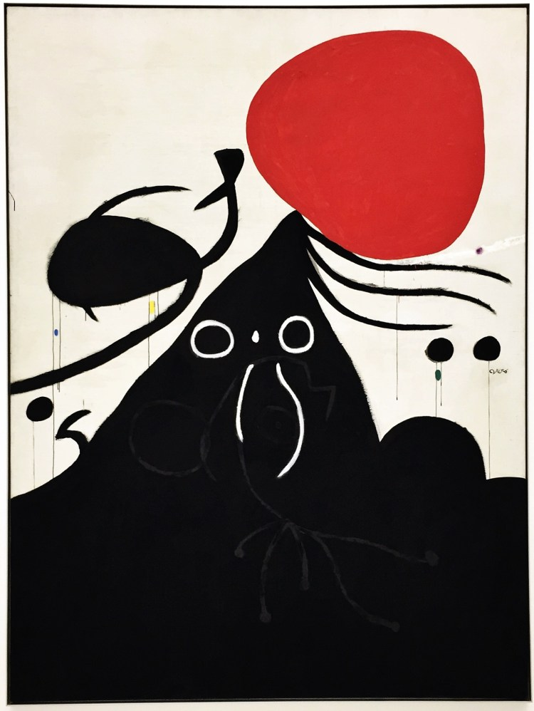 Woman in Front of the Sun (I), 1974