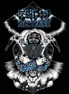 "T-Shirt design for band Fulci Nightmare ""Kalt"""