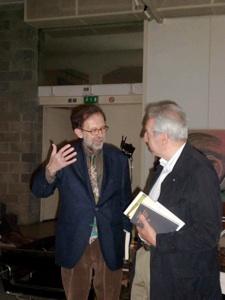 con Elio Pecora