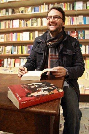 Firmacopie alla libreria Giovannacci di Biella