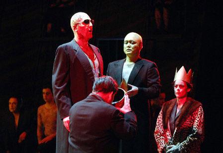 Paolo Ruggiero - L'AFRICAINE - Gran Bramino - Stadttheater Wuerzburg (Germania). Direttore Enrico Calesso.