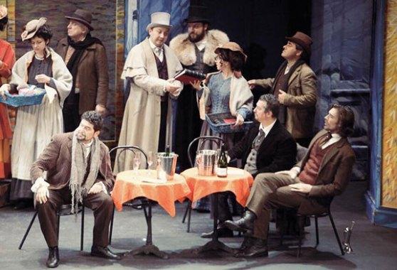 Paolo Ruggiero - La Boheme - Marcello - Theatre L'Archipel, Perpignan (France). Direttore Martin Mazik.