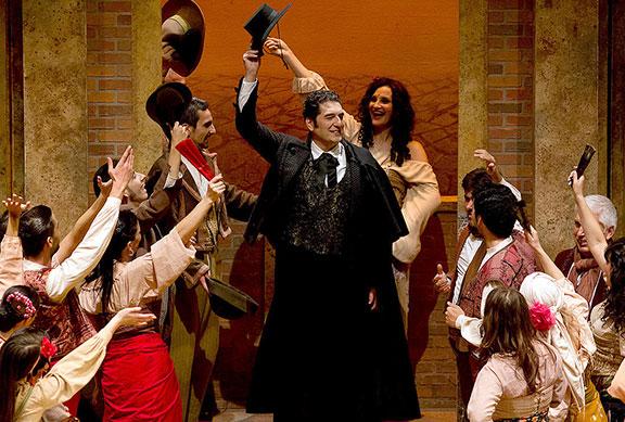 Paolo Ruggiero - Carmen - Escamillo - Teatro Cervantes, Malaga (Spain)