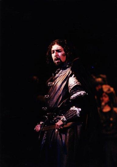 Paolo Ruggiero - Macbeth - Teatro Nazionale dell'Opera e del Balletto, Sofia (Bulgaria). Direttore Vladimir Ghiaurov.