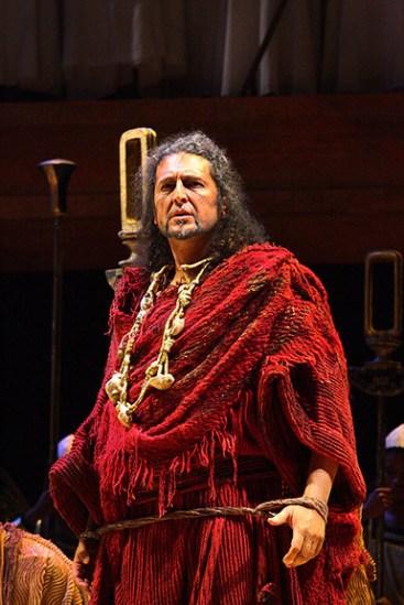Paolo Ruggiero - Aida - Amonasro - Capetown Opera House (Sudafrica). Direttore Christopher Dowdeswell.