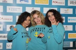 le tre organizzatrici del Festival Francesca, Claudia e Alessia