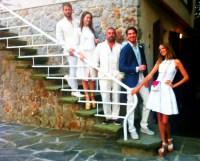 Matilda Lutz, Ildo Damiano, Alan Cappelli, Candela Novembre and me ready for the party