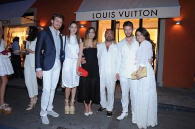 Alan Cappelli, Matilda Lutz, Eleonora Carisi, Ildo Damiano, Paolo Stella and Alessandra Airò