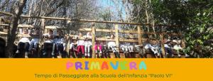 Primavera alla Scuola Materna Paolo VI di Molvena