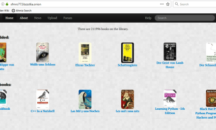 Imperial Library – Thư viện Ebook trên Deep Web