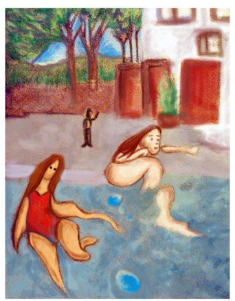 El Adios. Inspirado en Ilustracion Alfredo Sandoval 2011