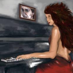 Pianista y su recuerdo. 2016