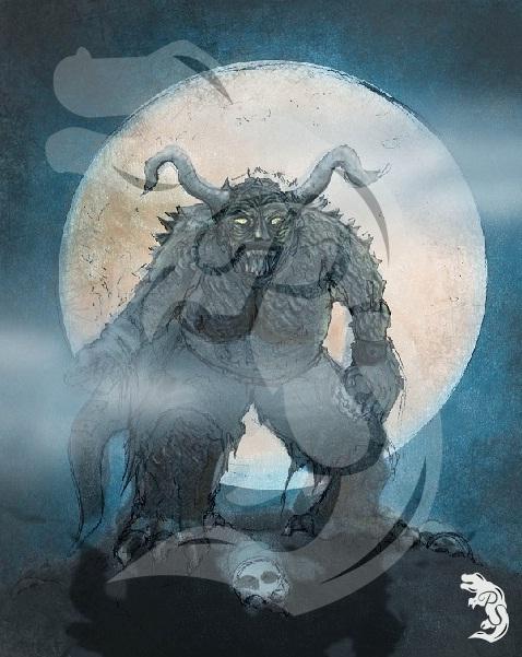 Monstruo en la oscuridad. 2010
