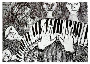 Las manos y las teclas. 2010