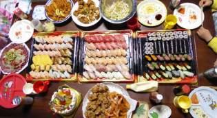 お寿司パーティー