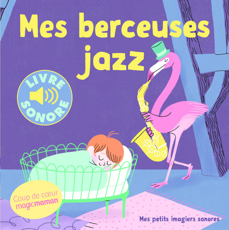 livre sonore mes berceuses de jazz
