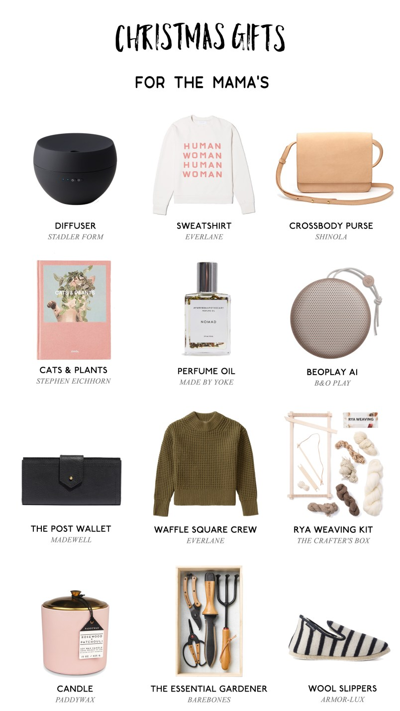 Christmas Gift Guide for Mothers 2017