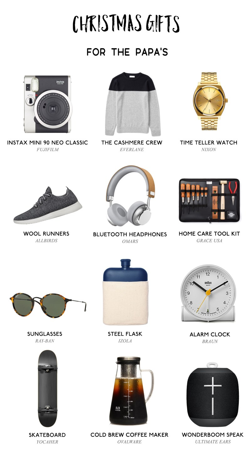 Christmas Gift Ideas for Dads 2017