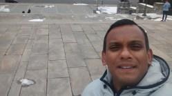 My selfie try - Hmmm