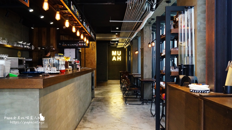 台中|南屯 唇印咖啡館 -Café Muah 早午餐/咖啡/還有針筒沙拉醬..就算是下午3點以後想吃沒問題!也有素食早午餐系列