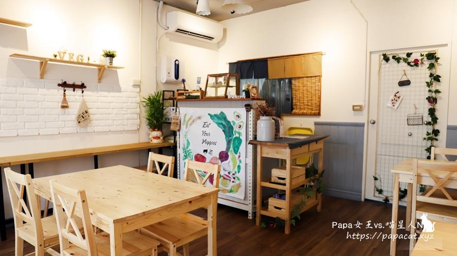 台中|蔬食 好食晨-木質溫馨的風格主推-日系蔬食壽司,只賣草食系 五辛/奶素/純素 都可以