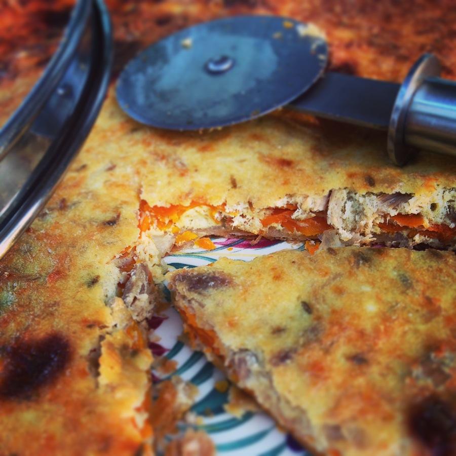 Tarte au thon et à la carotte