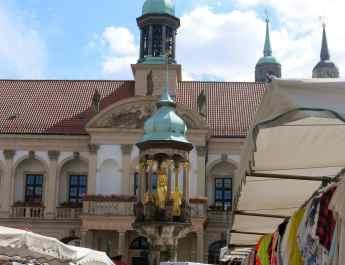 Markt in Magdeburg