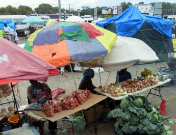 Markt in Francistown