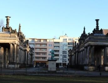 Königskolonnaden an der Potsdamer Straße