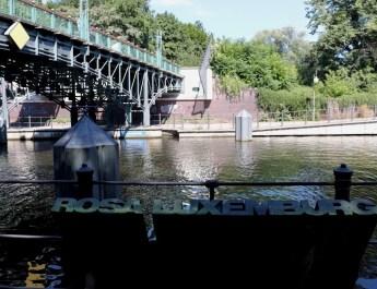 Die Lichtensteinbrücke am Landwehrkanal