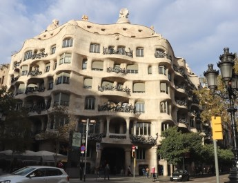 Die Casa Milá in Barcelona