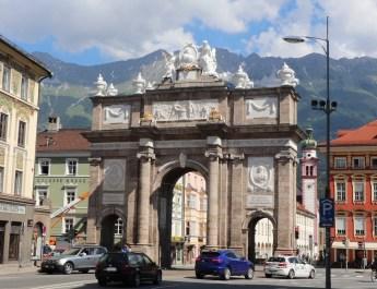 Das Triumphtor in Innsbruck