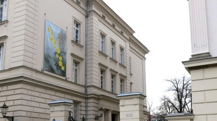 Eingang zum Bröhan-Museum in Charlottenburg
