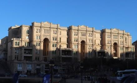 Balluta-Apartmenthaus im Jugendstil