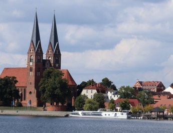 Die Klosterkirche in Neuruppin am Ruppiner See