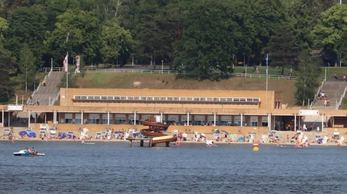 Baden wie an der Ostsee im Strandbad Wannsee
