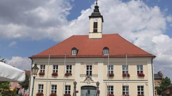 Das Rathaus von Angermünde